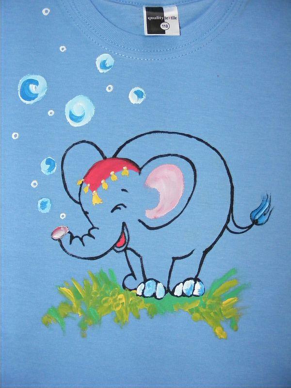 Dětské tričko se slonem » Namaluju 63fbf44fd5